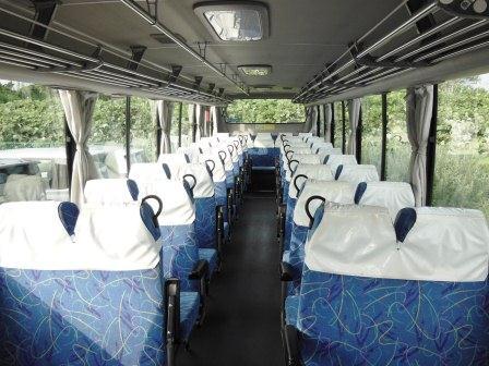 ホームページ クラブバス内